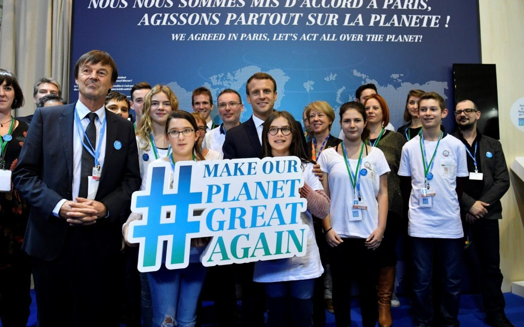 Cumbre en París buscará el martes impulsar la financiación contra el calentamiento