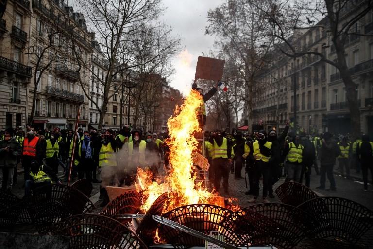 """Crisis de """"chalecos amarillos"""": lecciones para la transición ecológica"""