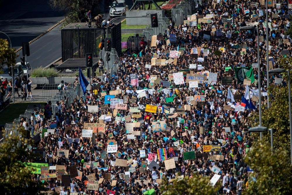 Un millón de jóvenes por el clima