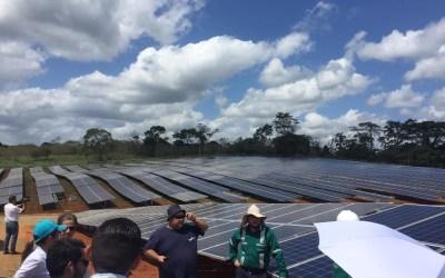 El parque solar más grande del país escudará la electricidad sancarleña ante sequías