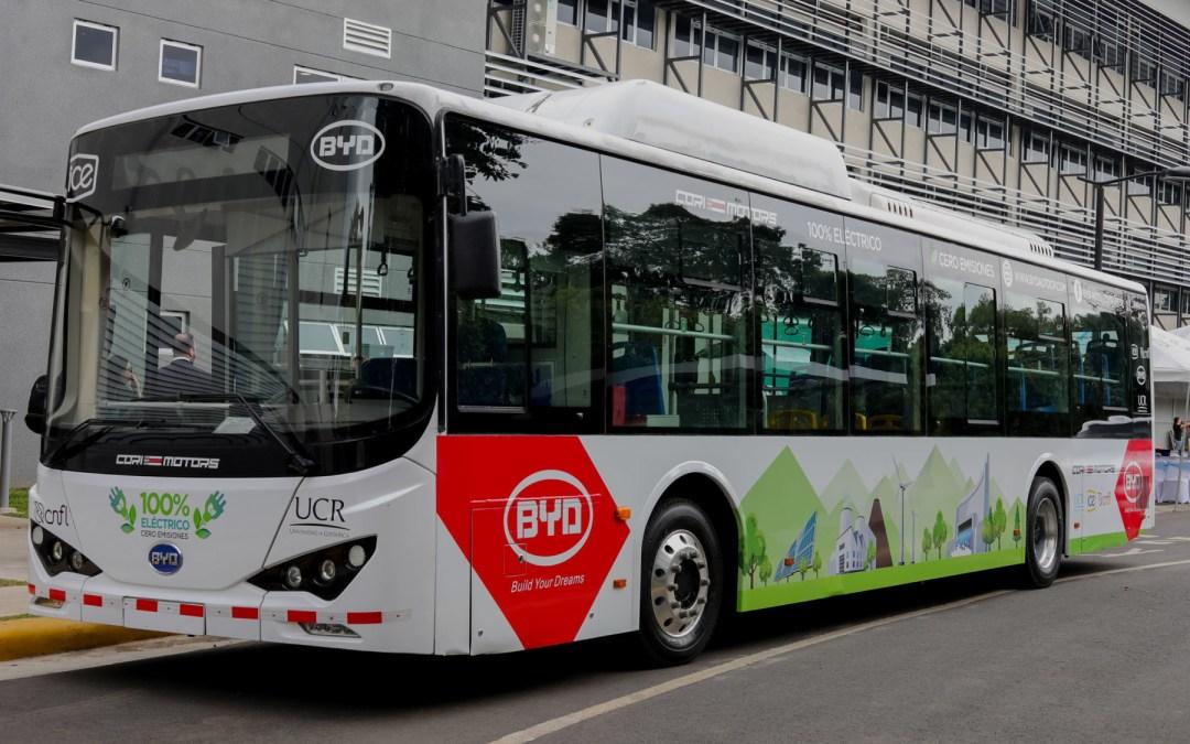La UCR probará un bus eléctrico en su campus. ¿Por qué es importante para el país?