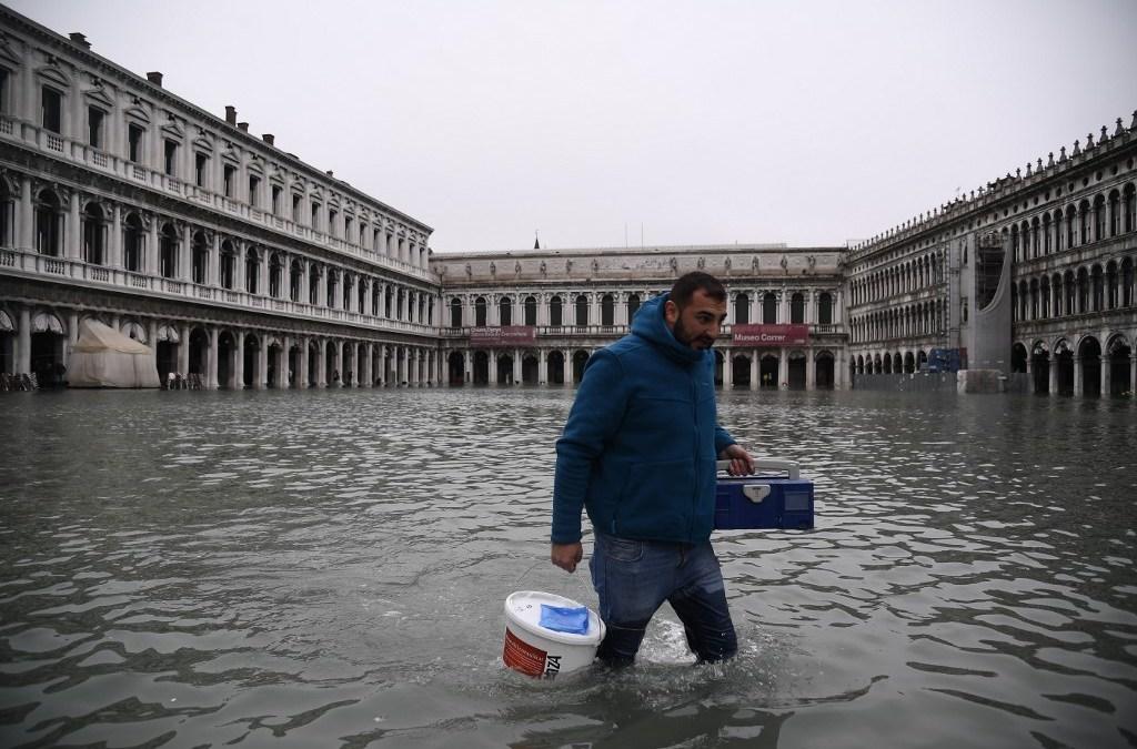 """Venecia declara """"estado de emergencia"""" por inundaciones históricas"""