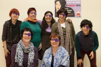 Tejiendo en Morado, colectivo de mujeres - Valladolid