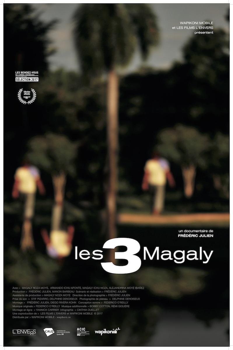 Affiche Les 3 Magaly-JPG LR