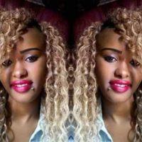 Photos: Pretty 'deadly' female gangster shot dead in fierce gun duel with police in Nairobi