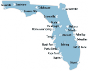 Florida Locations for Job Training