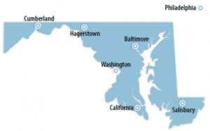 Maryland Locations for Job Training