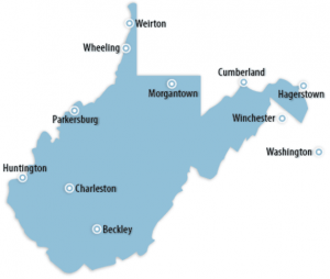 West Virginia Locations for Job Training
