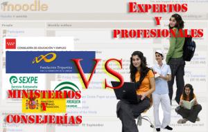 La administración y los expertos en formación