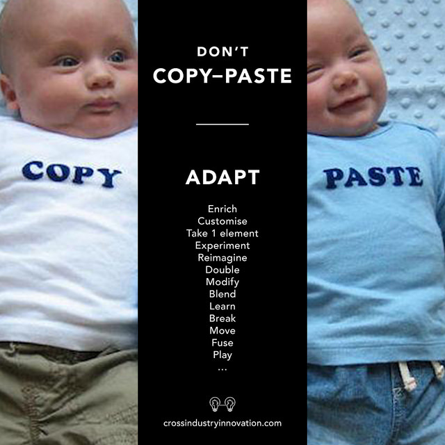 copy - adapt - paste