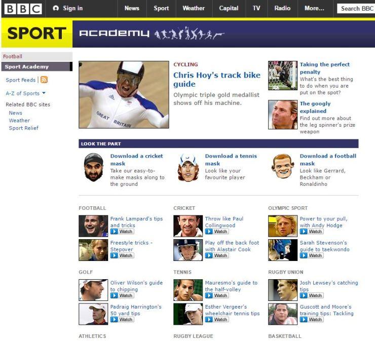 BBC Sport Academy