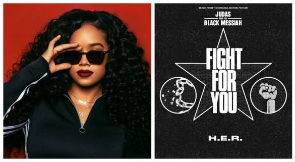 "MP3: H.E.R. – FIGHT FOR YOU (FROM THE ORIGINAL MOTION PICTURE ""JUDAS AND THE BLACK MESSIAH"")"