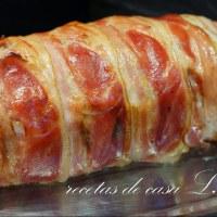 Rollo de carne con mucho sabor muy fácil