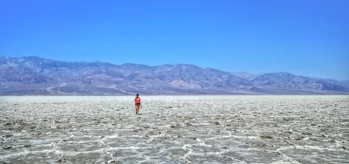 Salzsee, tiefster Punkt Nordamerikas