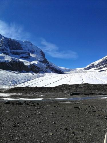 Frontalaufnahme eines Gletschers