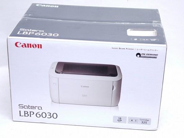 CANON[キヤノン]Satera/サテラ モノクロレーザービームプリンター LBP6030