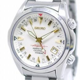 SEIKO[セイコー]Alpinist/アルピニスト クォーツ/8F56-00D0