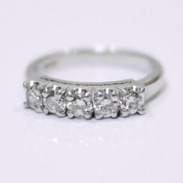 ダイヤモンド:0.60ct/Pt900:5.02g リング