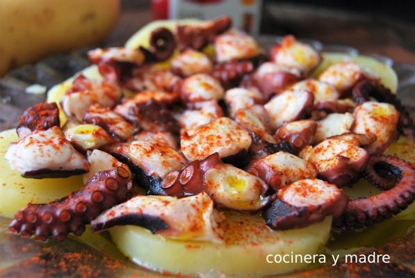 Pulpo a la gallega receta tradicional