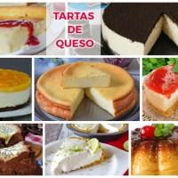8 Tartas de queso