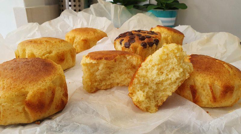 Muffins de limón XL muy jugosos y fragantes