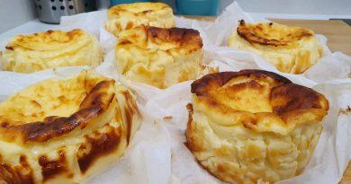 Tarta de queso La Viña tamaño individual