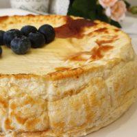 Tarta de queso y yogur SIN AZÚCAR