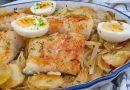Bacalao al horno receta portuguesa