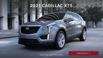 New 2021 Cadillac XT5 Garland