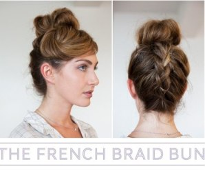 How to make French Braid Bun