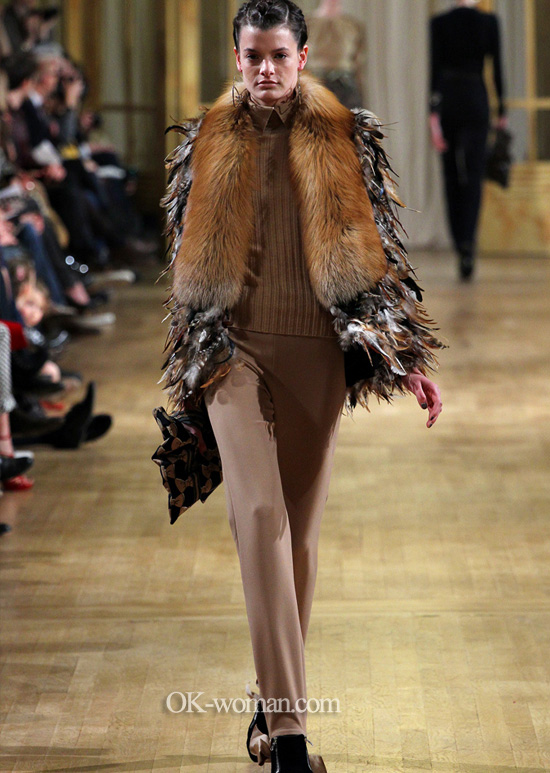 Fur coats 2013. Alexis Mabille.