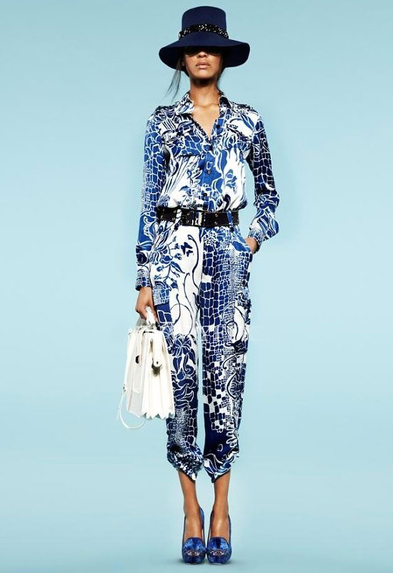 Print trousers spring summer 2013 top trends fashion