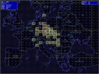 Mapa locátorů