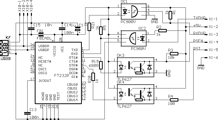 related with icom ci v usb interface schematic