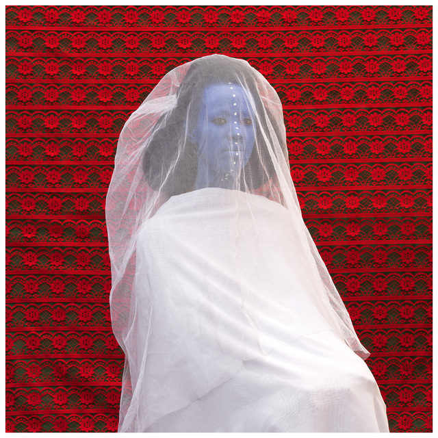Aida Muluneh, The Morning Bride, 2016. Photograph Printed on Sunset Hot Press Rag 310 GSM, 80 x 80 cm, 2016. Image courtesy of David Krut Projects.