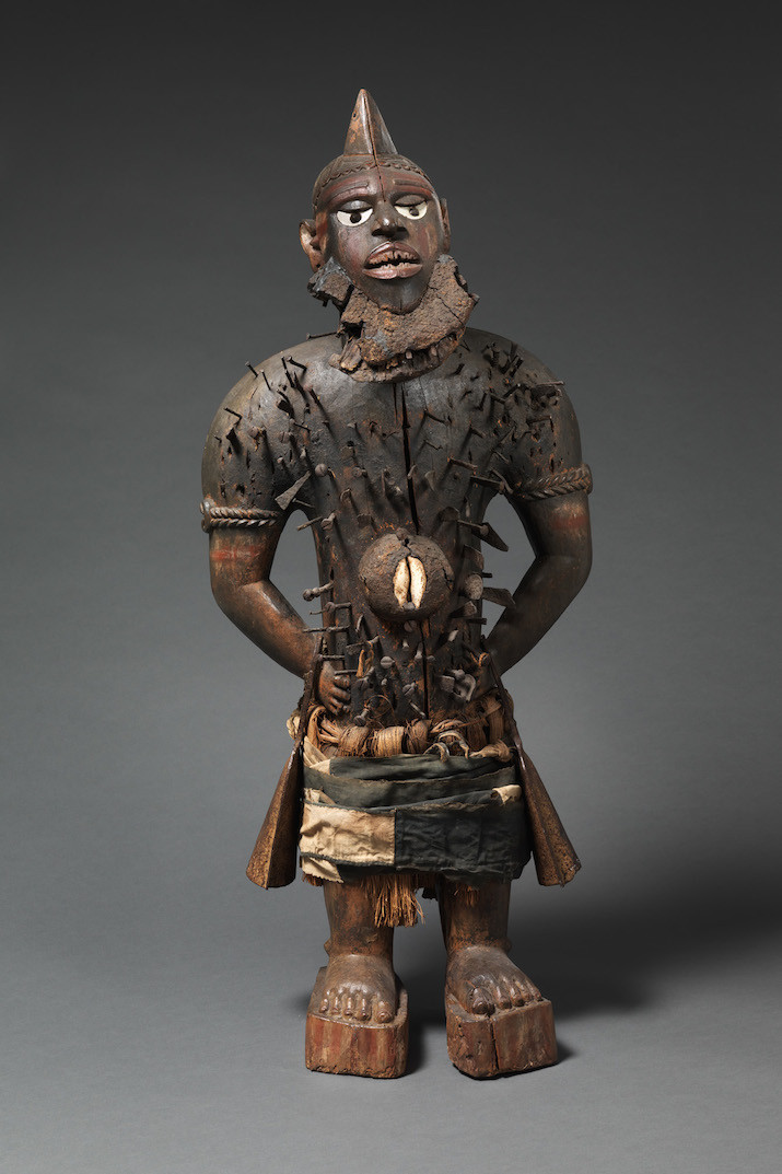 The-Met-Power Figure (Nkisi N'Kondi Mangaaka)