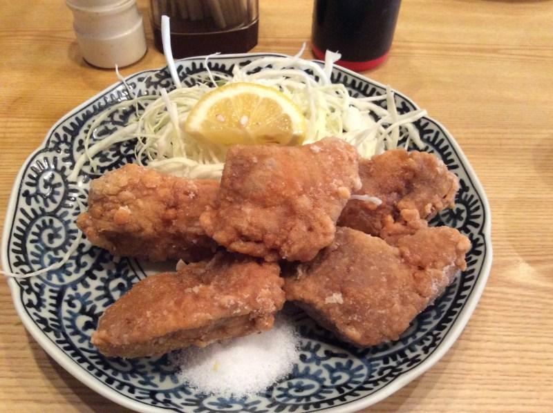 奈良で食べられるから揚げ⑪ から揚げはから揚げでも… まぐろ小屋 唐揚げ定食