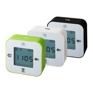 IKEA LOTTORP イケア ロットルプ 時計 温度計 アラーム タイマー アソートカラー
