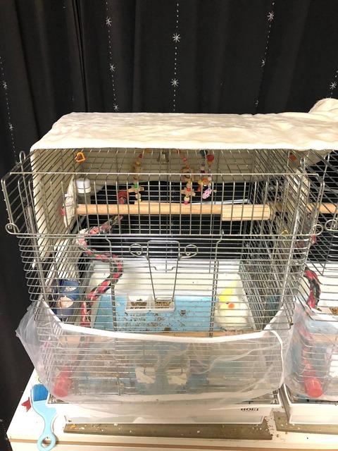 鳥用ケージカバー