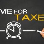 法人の法人税等申告
