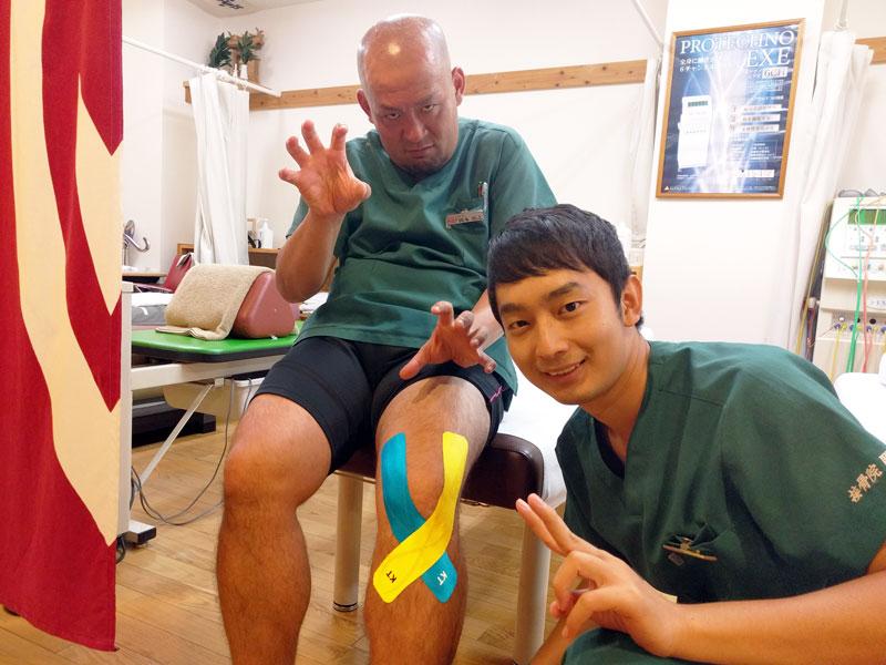佐々木先生が髪の毛を切りました