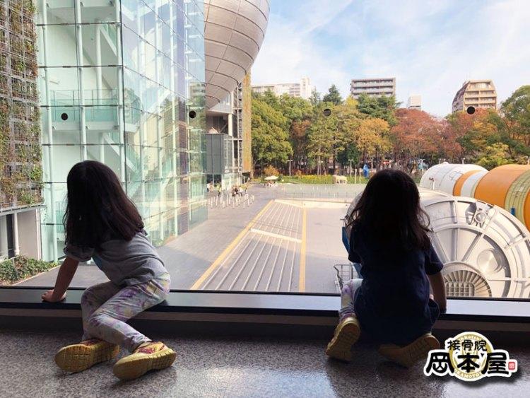 3連休の最終日は娘たちと名古屋市科学館に行ってきました