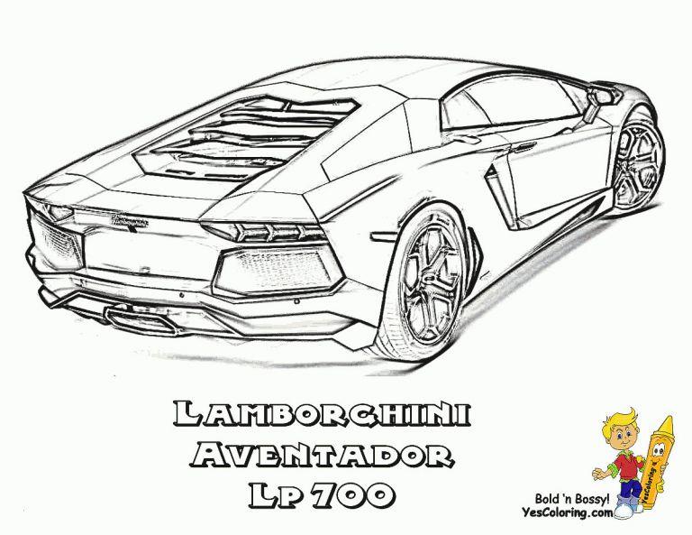 Ausmalbilder Autos Lamborghini Inspirierend 40 Malvorlagen