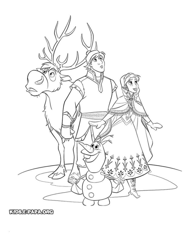 Ausmalbilder Elsa Und Anna Zum Ausdrucken Neu Druckbare