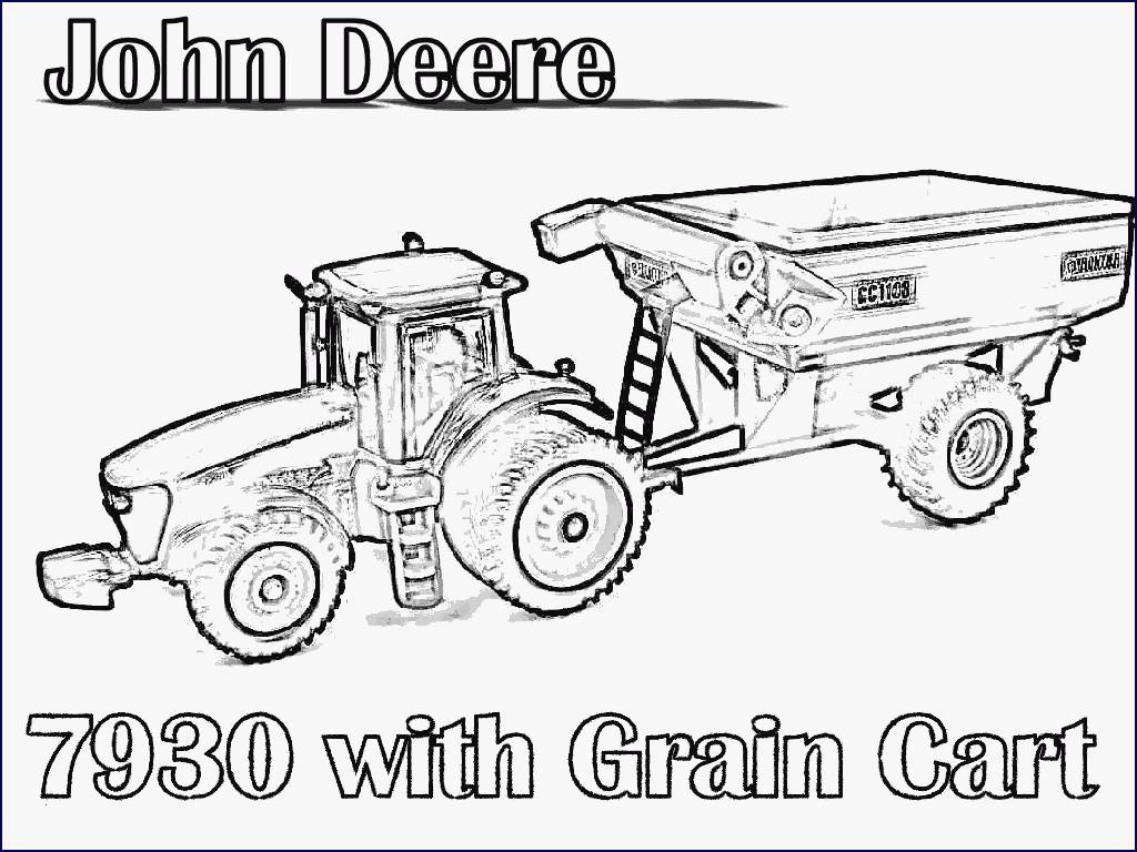 John Deere Ausmalbilder