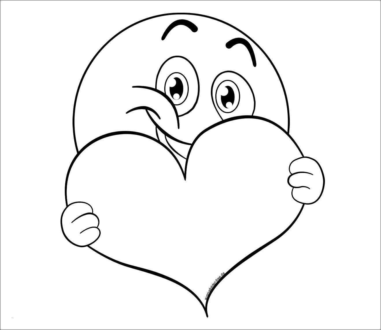 Ausmalbild Einhorn Herz Malvorlagen Fur Kinder