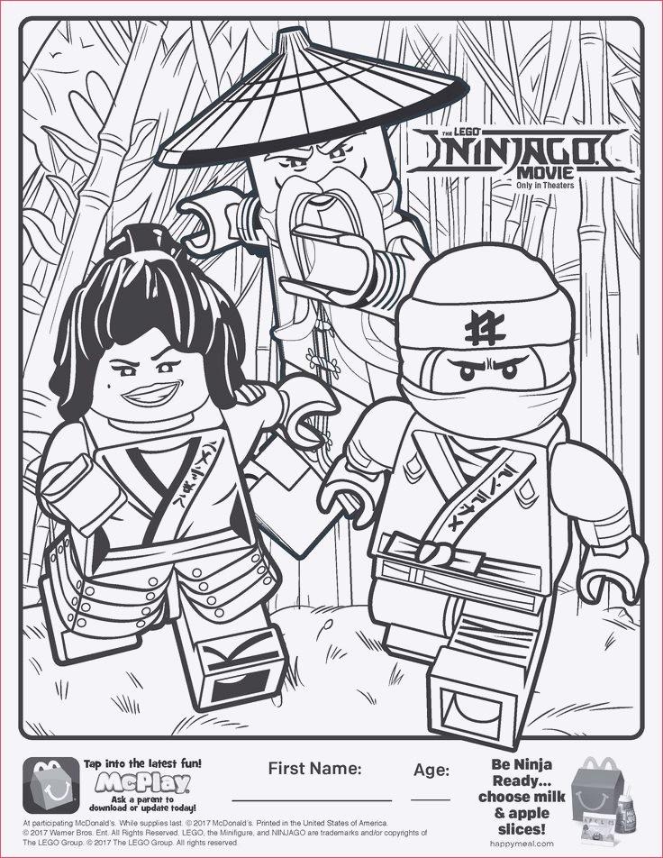 ausmalbild ninjago nya