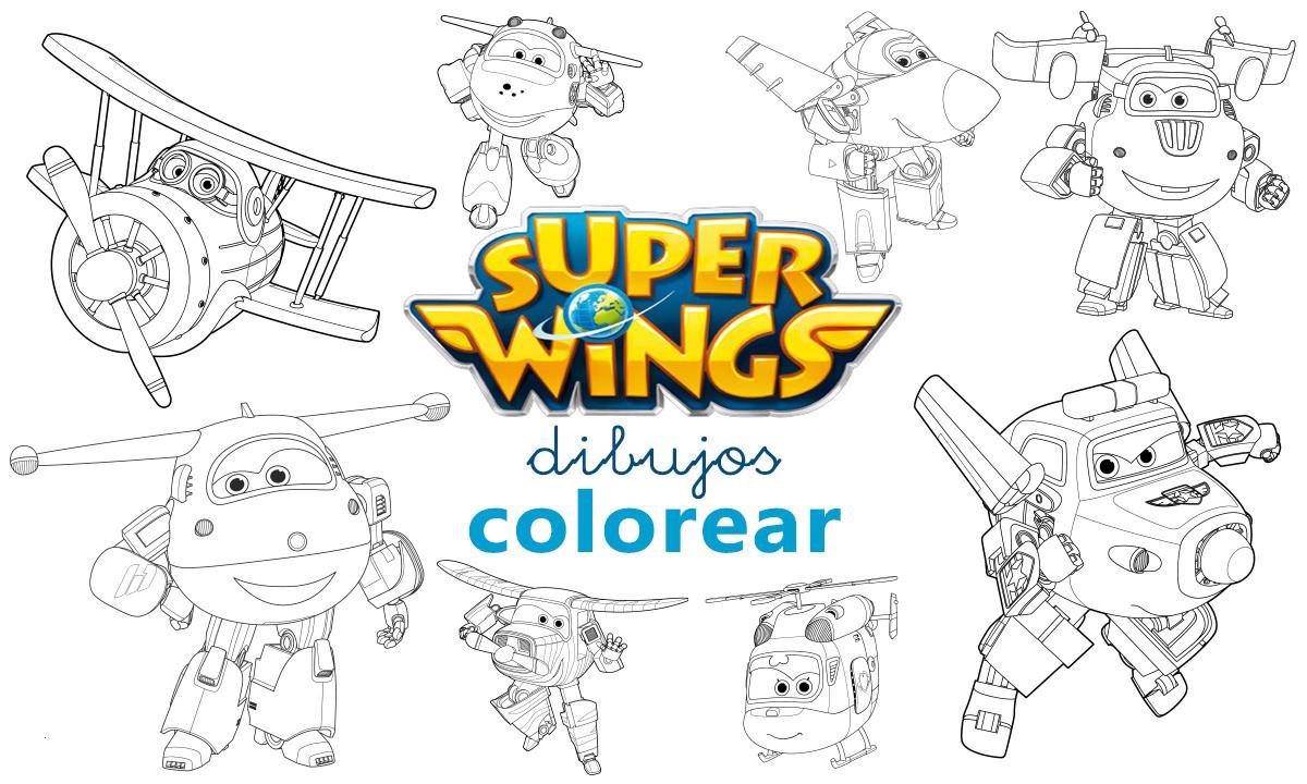 Super Wings Malvorlage