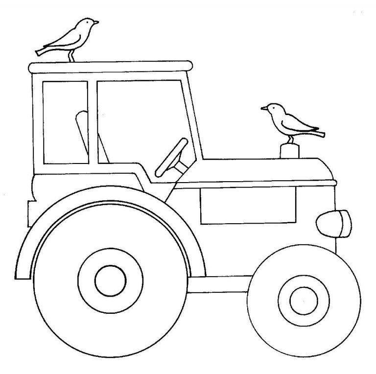 Kleurplaat Tractor Deutz : Twents Oldtimer Festival