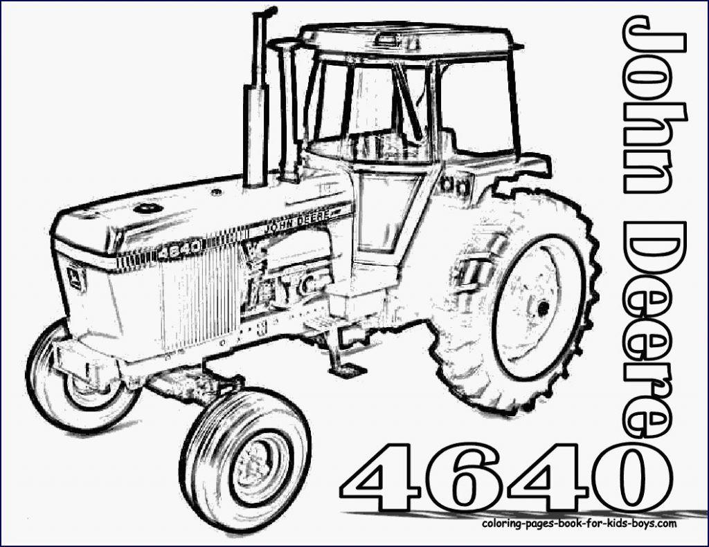 Ausmalbilder Traktor Mit Frontlader Das Beste Von